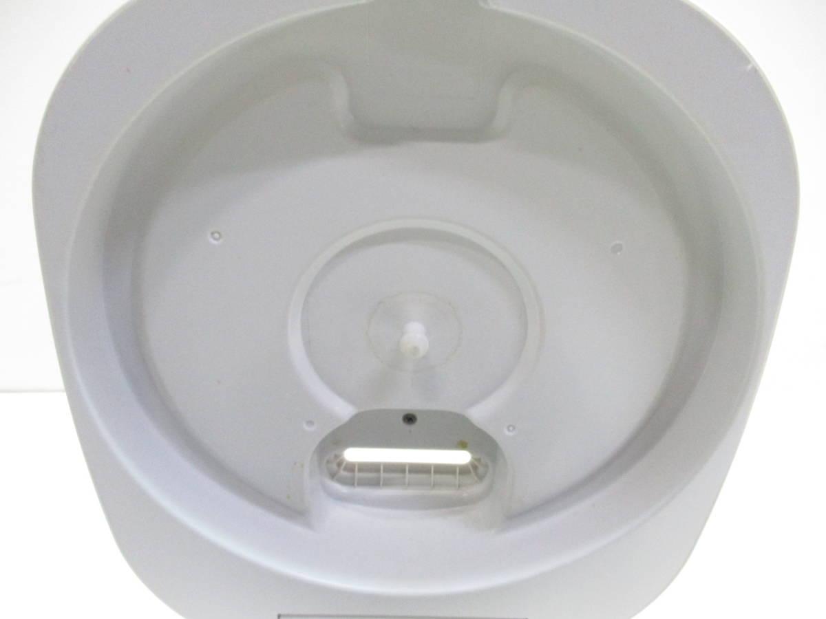☆美品 SHARP シャープ ジャー炊飯器 KS-CF05A-W ホワイト 3合炊き 2018年製 1632B☆_画像5