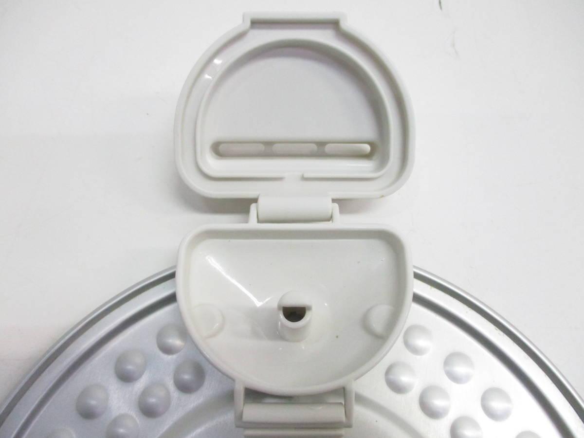 ☆美品 SHARP シャープ ジャー炊飯器 KS-CF05A-W ホワイト 3合炊き 2018年製 1632B☆_画像7