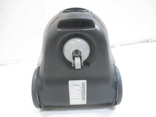 ○HITACHI 日立 紙パック掃除機 かるパック CV-PW20 2013年製 E-6247○_画像7