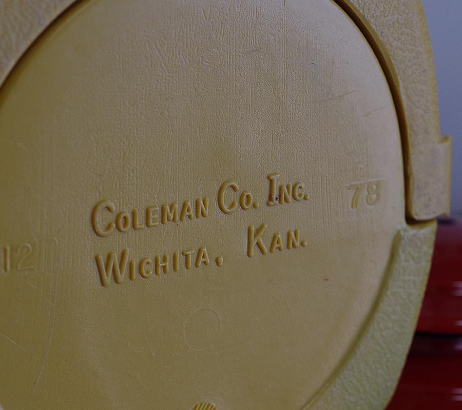 Coleman コールマン200A (1979年8月) 丸ハンドルクラムシェルケース付き_画像7