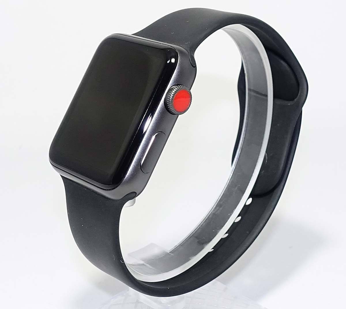 JUNK 箱 付属品 Apple Watch Series 3 GPS+Cellular 42mm MQKN2J/A A1891 アクティベーションロック ジャンク 部品取 アップル ウォッチ