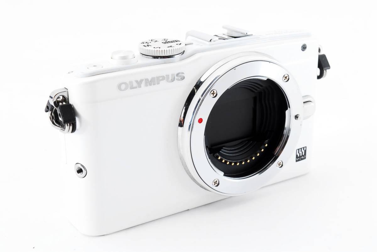 OLYMPUS PEN E-PL 6 ホワイト ミラーレス_画像3