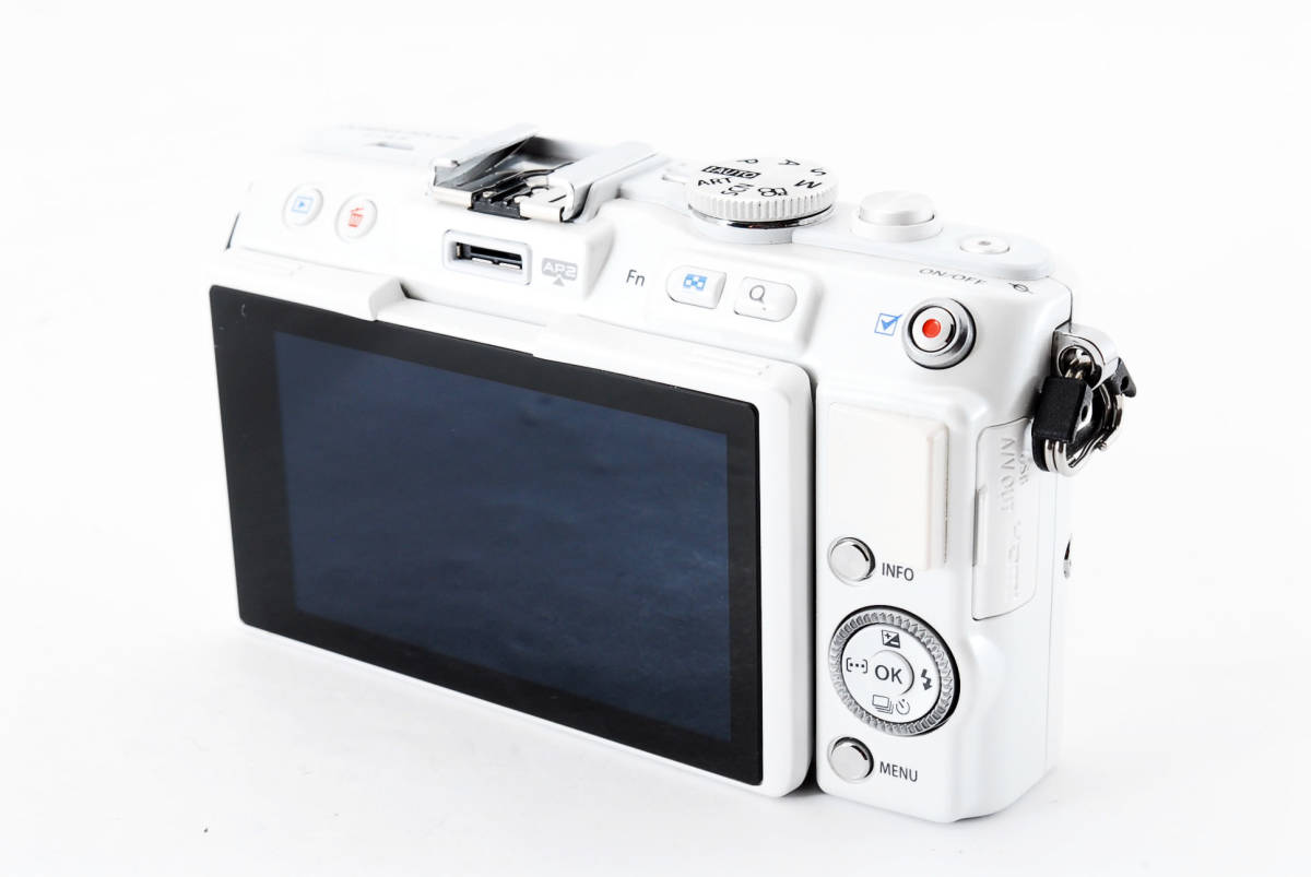 OLYMPUS PEN E-PL 6 ホワイト ミラーレス_画像5