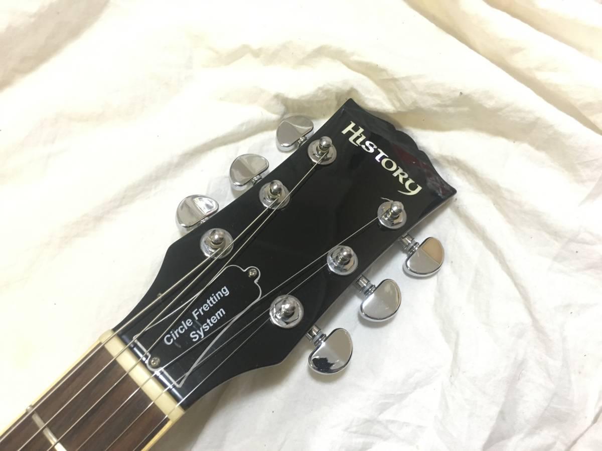 ♪名機♪History Les Paul Model 高級仕様 レスポール Seymour Duncan PU _画像5