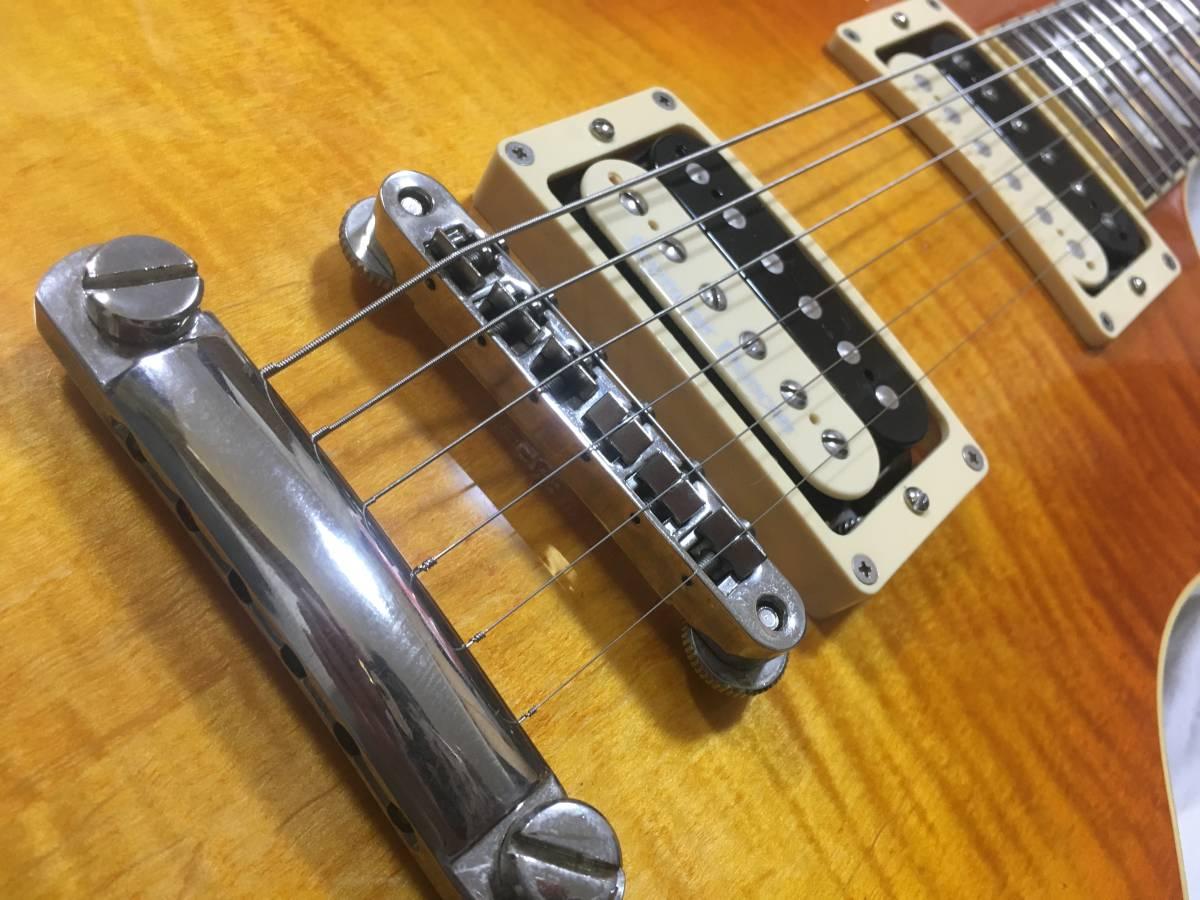♪名機♪History Les Paul Model 高級仕様 レスポール Seymour Duncan PU _画像3