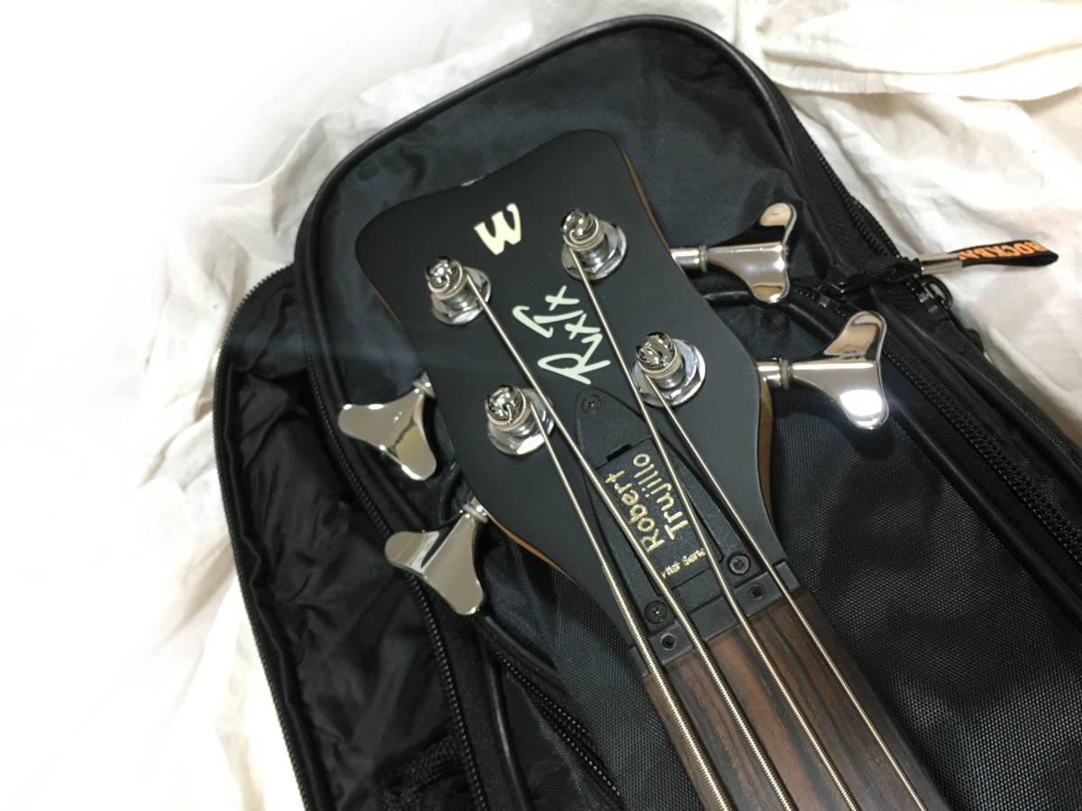 ♪名機♪Warwick Robert Trujillo Artist Line Signature bass エレキベース_画像7
