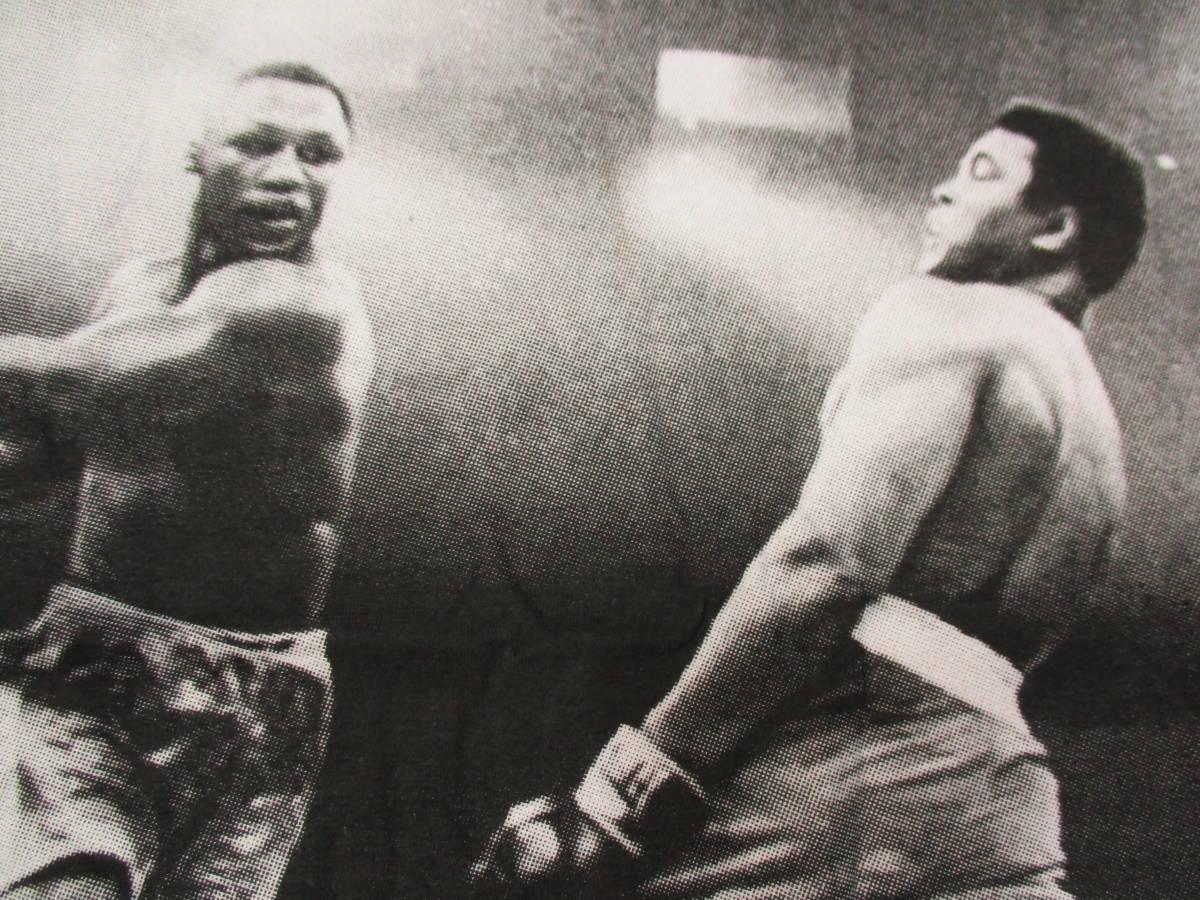 新品 ボクシングTシャツ 白 ホワイト Lサイズ モハメド・アリ vs ジョー・フレージャー 世紀の名勝負 元統一世界ヘビー級チャンピオン_画像5