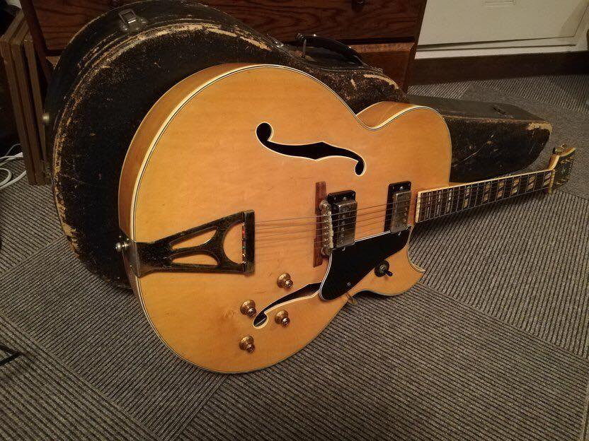 古いフルアコ エルヴィス Super400 タイプ ヴィンテージギター Elvis エレキギター ジャズギター 60s 70s gibson タイプ_画像9
