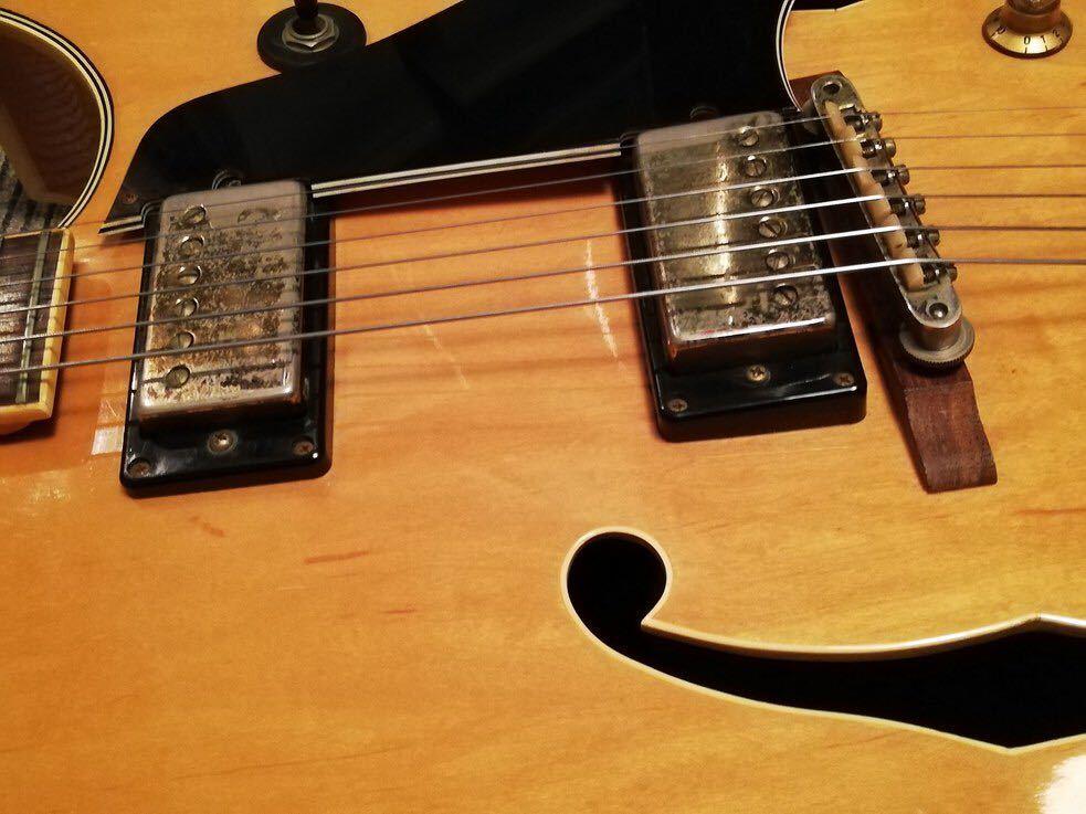 古いフルアコ エルヴィス Super400 タイプ ヴィンテージギター Elvis エレキギター ジャズギター 60s 70s gibson タイプ_画像6