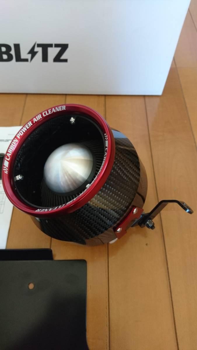 BLITZ(ブリッツ) CARBON POWER AIR CLEANER(カーボンパワーエアクリーナー) アルトターボRS アルトワークス HA36S 35233_画像4