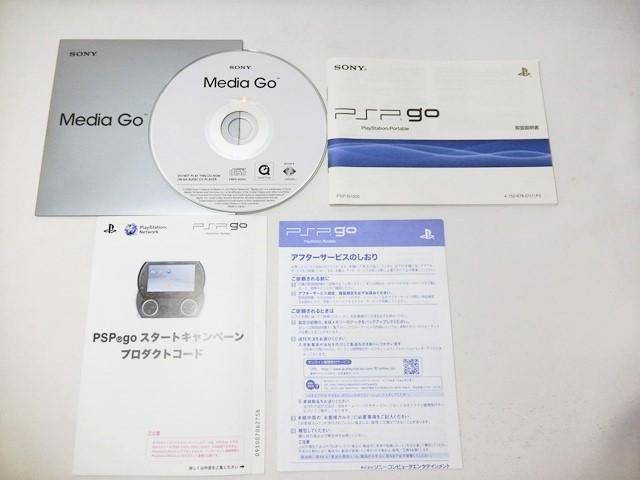 SONY ソニー PSP go(プレイステーション・ポータブル)【PSP-N1000】 PIANO BLACK 黒 ブラック 中古品_画像9
