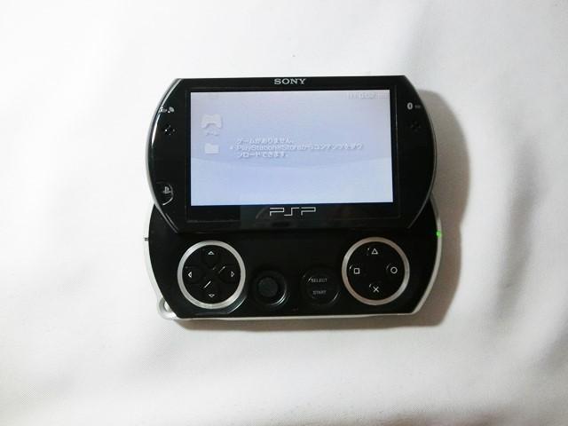 SONY ソニー PSP go(プレイステーション・ポータブル)【PSP-N1000】 PIANO BLACK 黒 ブラック 中古品_画像4