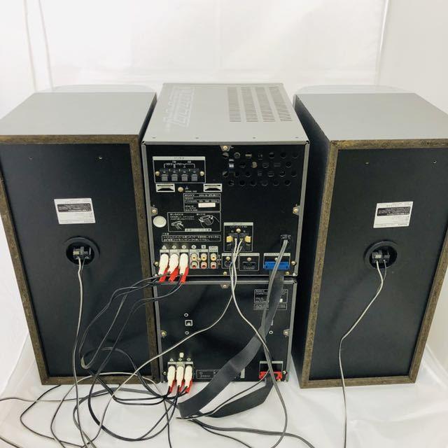 ★1円~★SONY ソニー DHC-MD777 システムコンポ STR-MD777 HMC-MD777 ペアスピーカー/SS-MD777 5CD 5MD 通電確認済_画像6