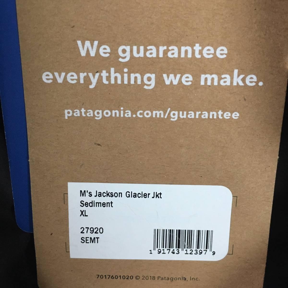最高級 Patagonia Men's Jackson Glacier Jacket パタゴニア メンズ ジャクソン グレイシャー ジャケット 2018FA XL (USサイズ) SEMT_画像10