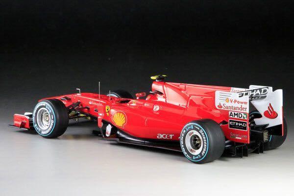 MFH 1/20 フェラーリ F10 日本GP F.アロンソ 完成品_画像2
