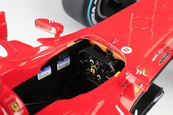 MFH 1/20 フェラーリ F10 日本GP F.アロンソ 完成品_画像9