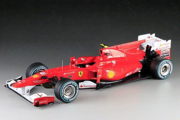 MFH 1/20 フェラーリ F10 日本GP F.アロンソ 完成品_画像4