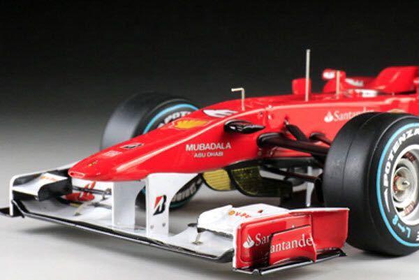 MFH 1/20 フェラーリ F10 日本GP F.アロンソ 完成品_画像5