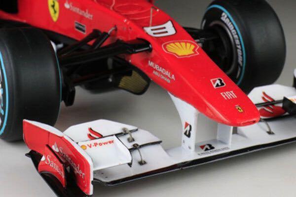 MFH 1/20 フェラーリ F10 日本GP F.アロンソ 完成品_画像6