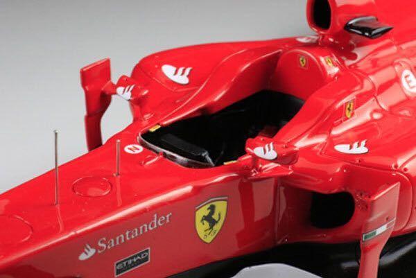MFH 1/20 フェラーリ F10 日本GP F.アロンソ 完成品_画像7