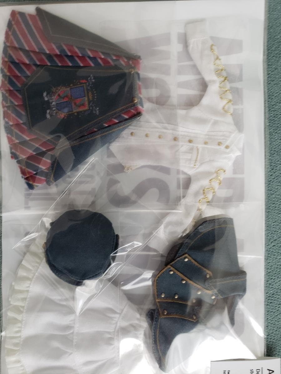 akガーデン AK-GARDEN16 ゆこ・アン 郵書士クーリエ 衣装セット メガミデバイス AKガーデン16_画像2