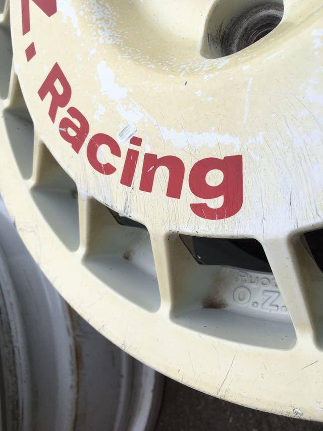 当時物 希少 o.z racing 14インチ 6J PCD100 オーゼットレーシング ラリーホイール ビッツ マーチ セリカ スターレット_画像5