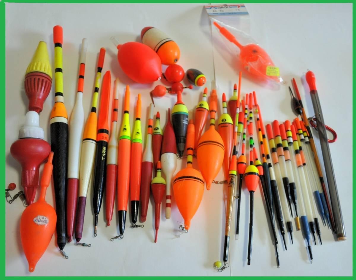 大量 釣り道具 浮き、針、錘、他小物など色々まとめてセット!_画像2