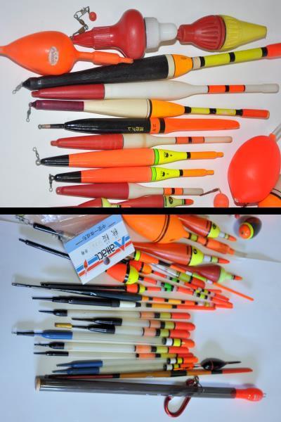 大量 釣り道具 浮き、針、錘、他小物など色々まとめてセット!_画像3