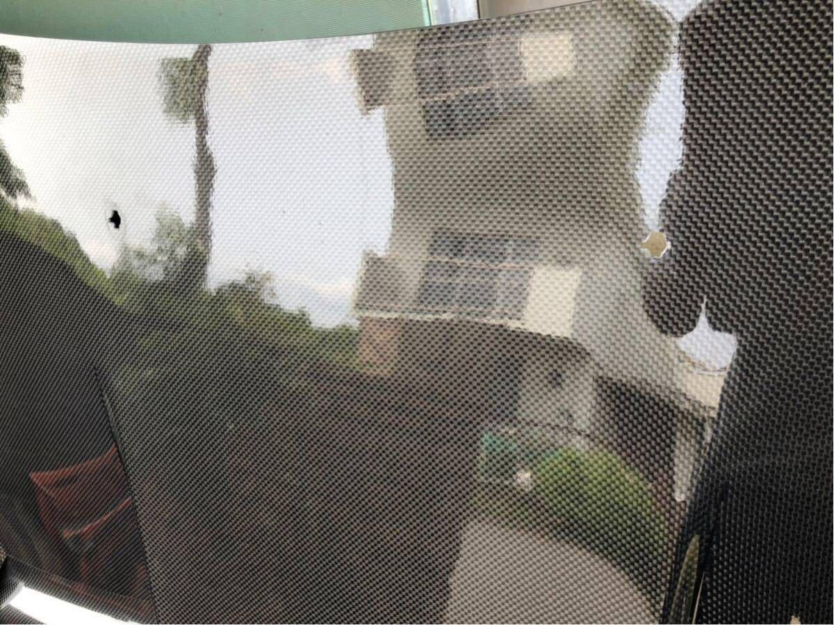 【美品】RX-7 RE雨宮製 カーボンボンネット 雨避けカバー付き ボンピン付き FD3S AD HOOD 9 Carbon_画像7