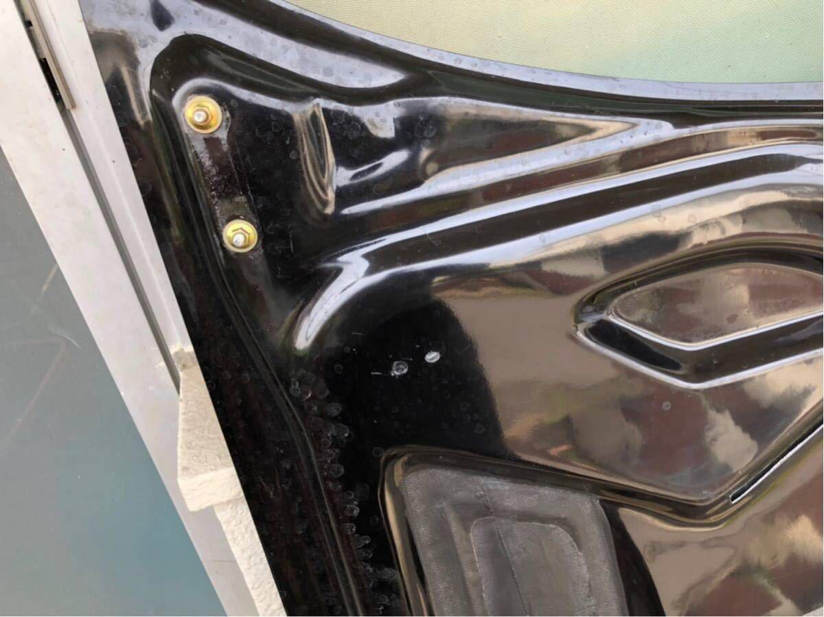 【美品】RX-7 RE雨宮製 カーボンボンネット 雨避けカバー付き ボンピン付き FD3S AD HOOD 9 Carbon_画像8