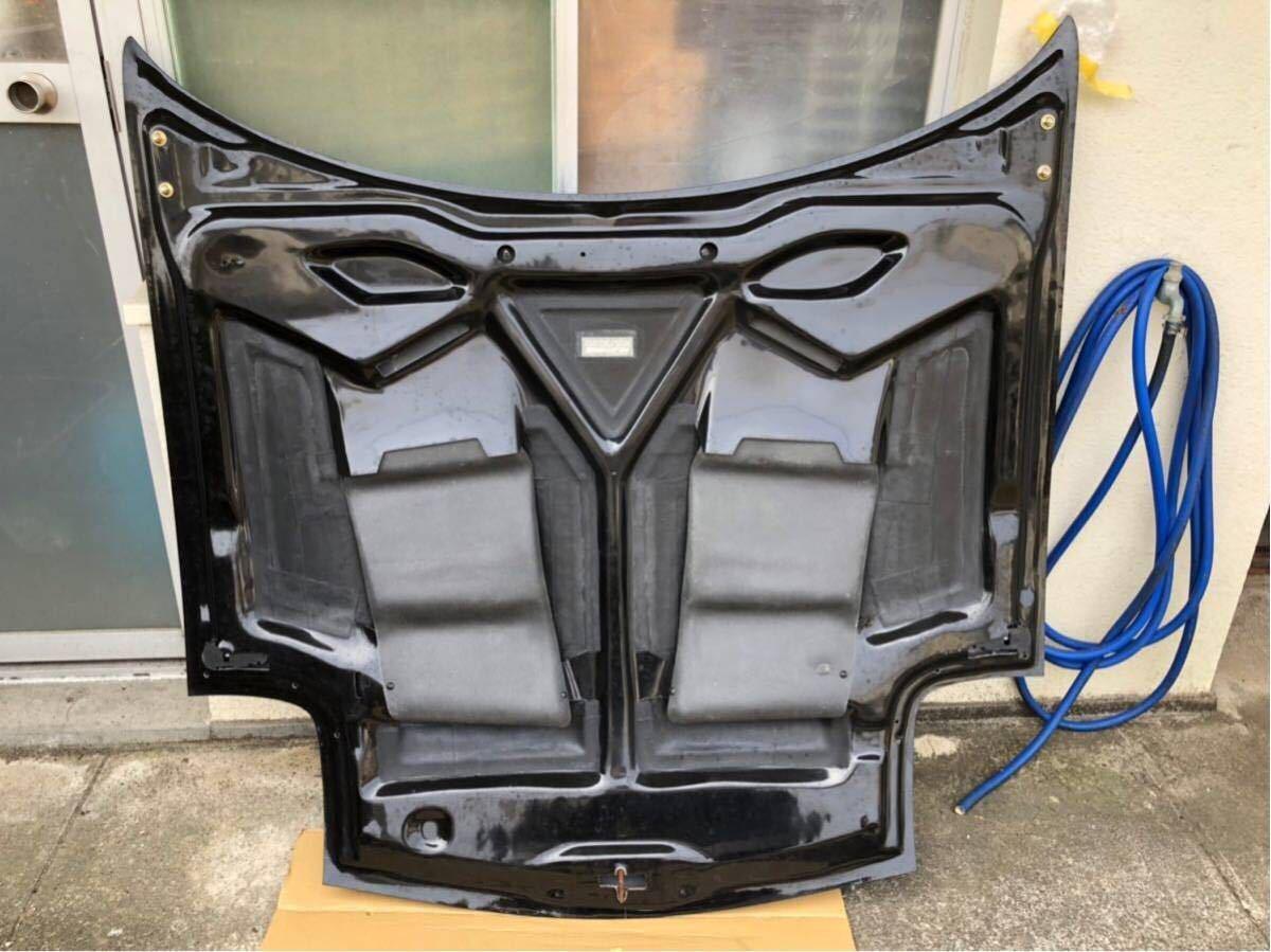 【美品】RX-7 RE雨宮製 カーボンボンネット 雨避けカバー付き ボンピン付き FD3S AD HOOD 9 Carbon_画像4