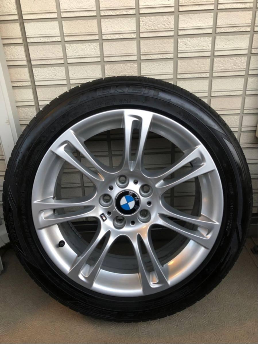 BMW Mスポーツ 純正ホイール タイヤセット 18インチ コーティング済 F10 PCD120_画像3