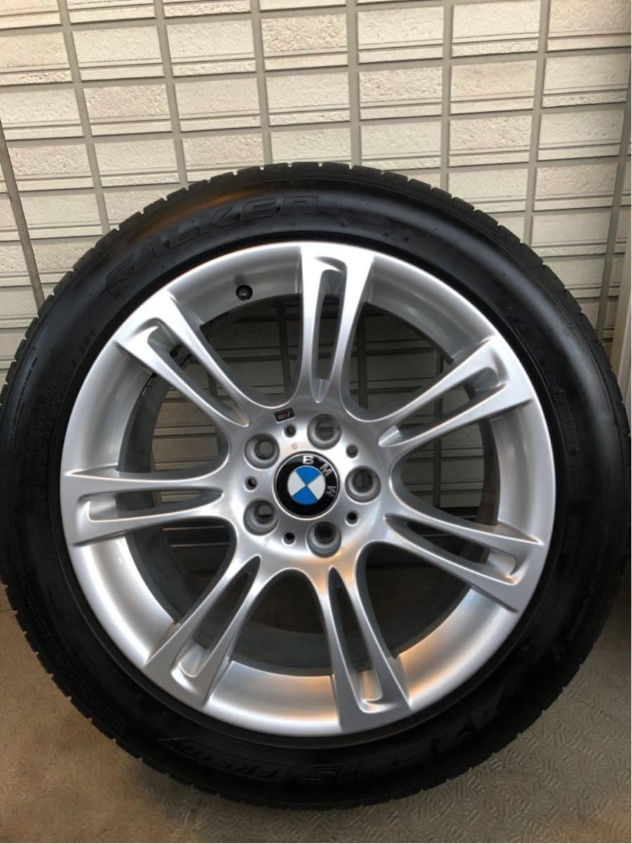BMW Mスポーツ 純正ホイール タイヤセット 18インチ コーティング済 F10 PCD120_画像4