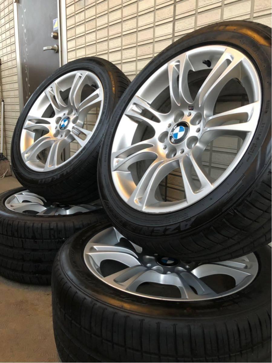 BMW Mスポーツ 純正ホイール タイヤセット 18インチ コーティング済 F10 PCD120