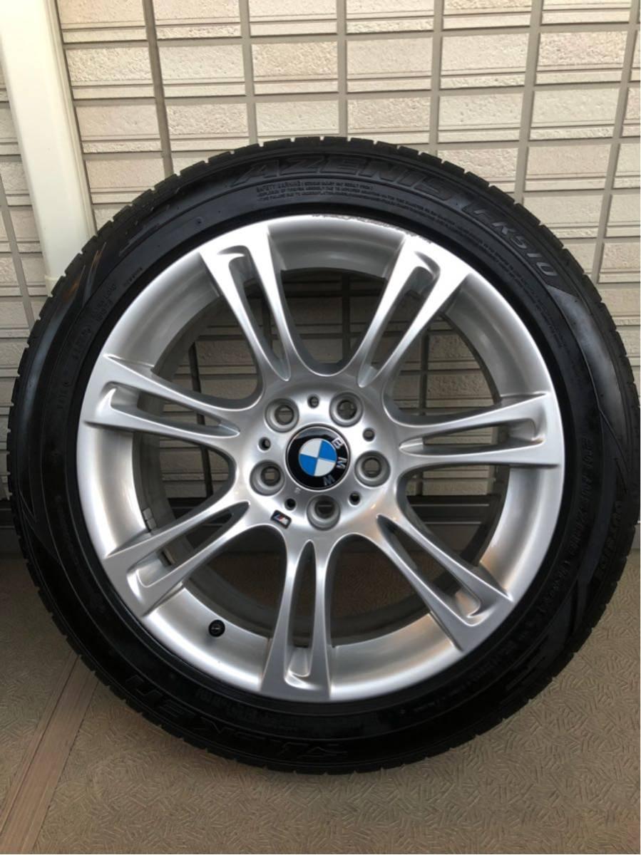 BMW Mスポーツ 純正ホイール タイヤセット 18インチ コーティング済 F10 PCD120_画像2