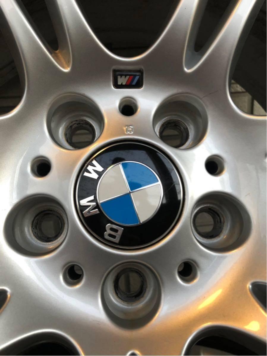 BMW Mスポーツ 純正ホイール タイヤセット 18インチ コーティング済 F10 PCD120_画像9