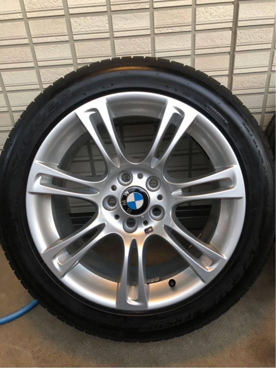 BMW Mスポーツ 純正ホイール タイヤセット 18インチ コーティング済 F10 PCD120_画像5