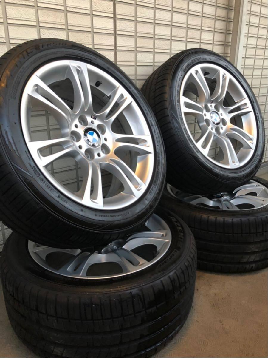 BMW Mスポーツ 純正ホイール タイヤセット 18インチ コーティング済 F10 PCD120_画像10