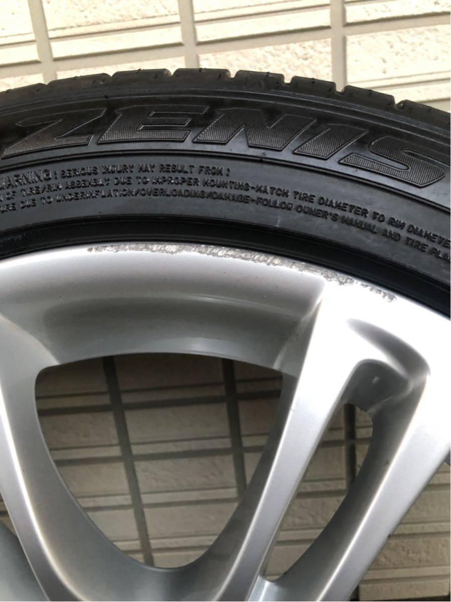 BMW Mスポーツ 純正ホイール タイヤセット 18インチ コーティング済 F10 PCD120_画像6