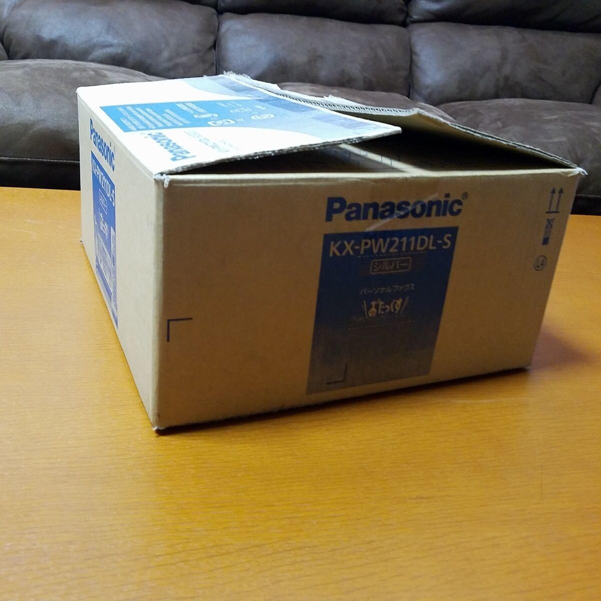 元箱入り 美品 Panasonic KX-PW211DL-S パナソニック パーソナルファックス おたっくす 電話機 親機_画像9