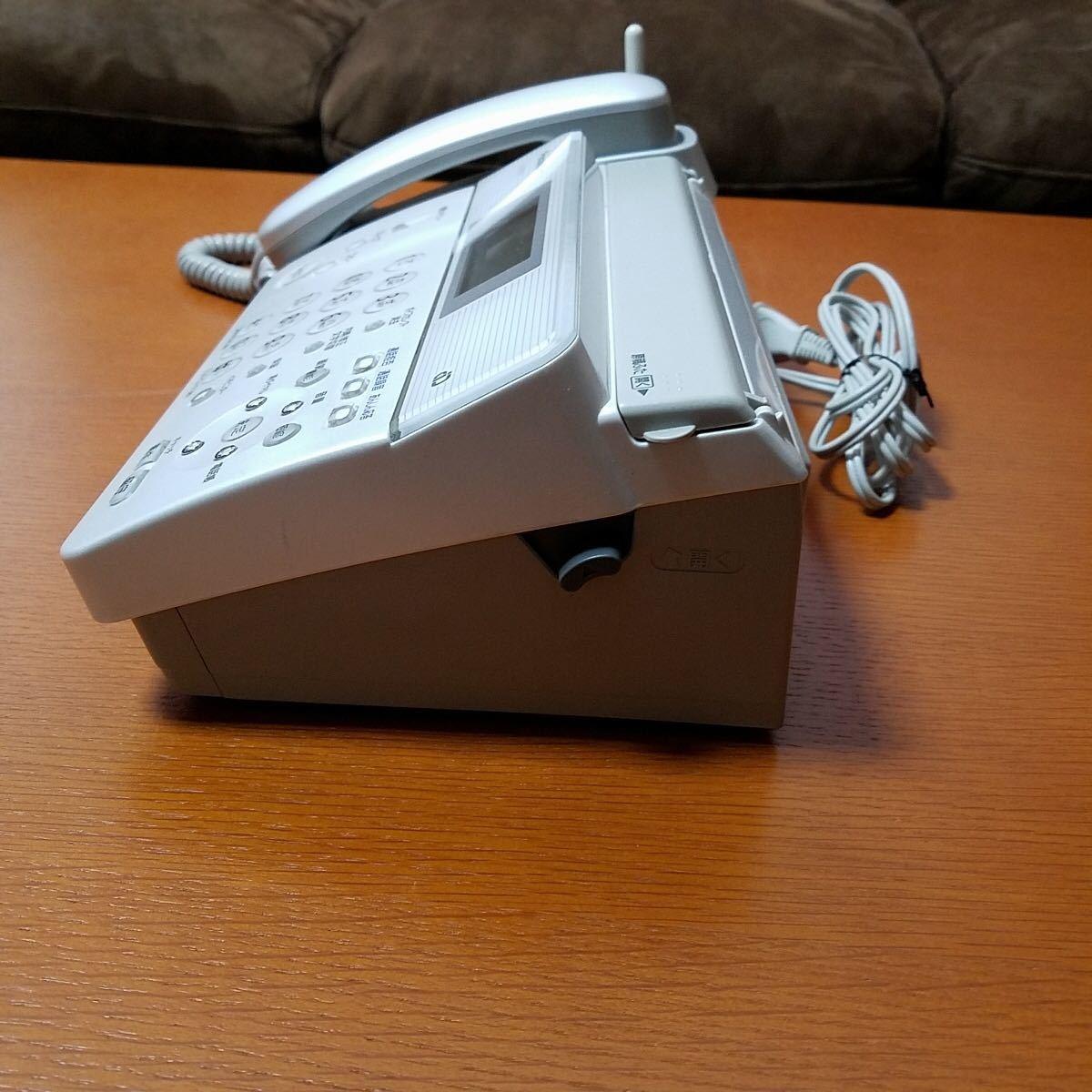 元箱入り 美品 Panasonic KX-PW211DL-S パナソニック パーソナルファックス おたっくす 電話機 親機_画像4