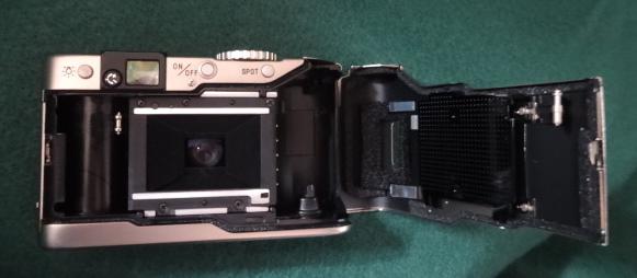 ★ MINOLTA ミノルタ TC-1 G-ROKKOR 28mm F3.5 フィルムコンパクトカメラ★ ‐ 美品・ 動作確認済み‐ 箱・電池・カタログ 付き _画像6