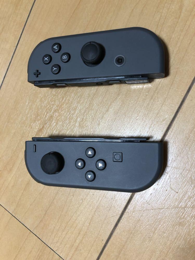超美品 メーカー保証半年 おまけ付き 任天堂 Nintendo Switch 本体 Joy-Con (L) / (R) グレー / ニンテンドースイッチ _画像6