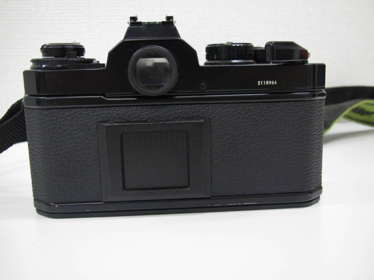 格安スタート!! カメラ ニコン Nikon FE2 ブラック シャッター○ ジャンク 6-9_画像4