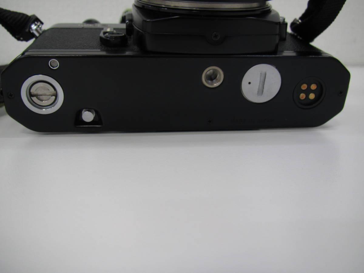 格安スタート!! カメラ ニコン Nikon FE2 ブラック シャッター○ ジャンク 6-9_画像6