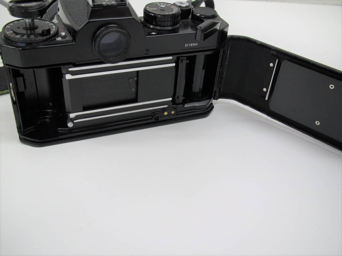 格安スタート!! カメラ ニコン Nikon FE2 ブラック シャッター○ ジャンク 6-9_画像7