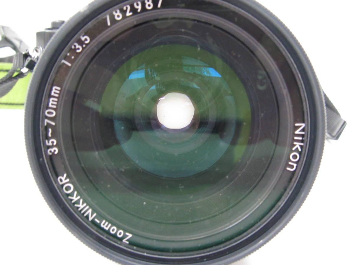 格安スタート!! カメラ ニコン Nikon FE2 ブラック シャッター○ ジャンク 6-9_画像8