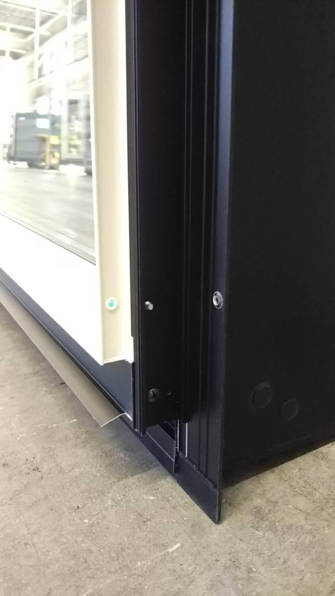 021 窓サッシ 引き取り限定 シャッター付引違窓 16509_画像6