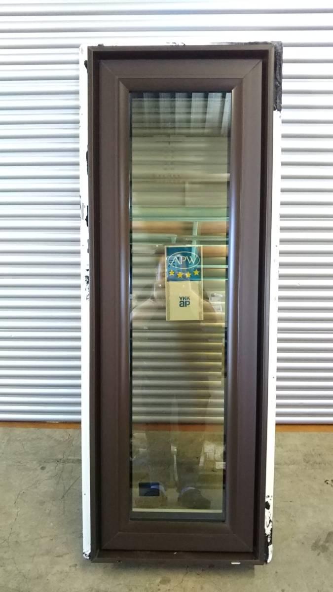 022 窓サッシ 引き取り限定 トリプルガラス たてすべり出し窓 03611R_画像3