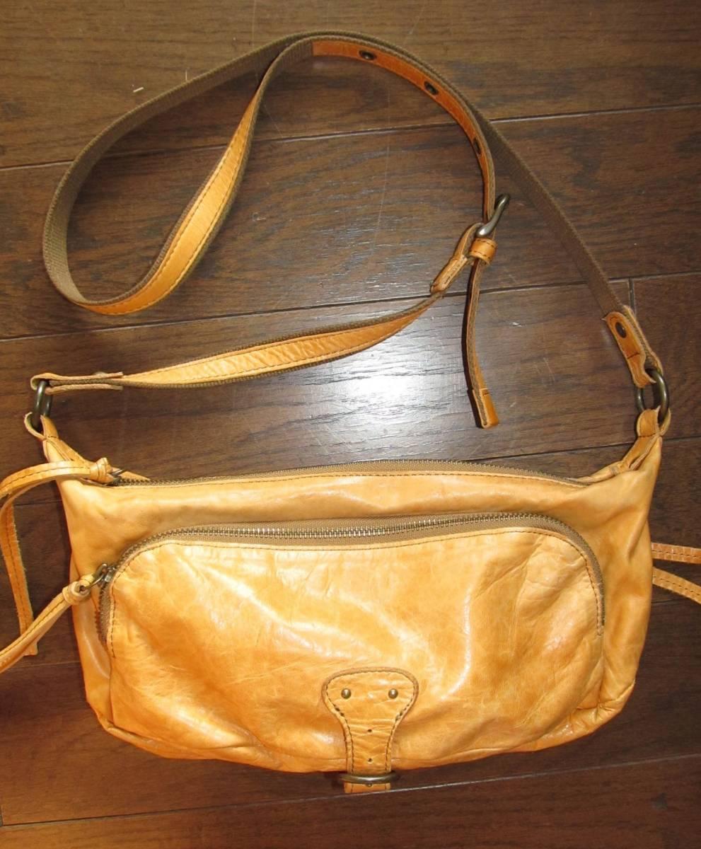 軽くて使い易い! DAKOTA(ダコタ)のレザー製ショルダーバッグ